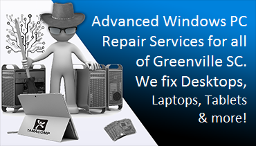 Computer Repair Virus Removal Data Recovery in Greenville SC